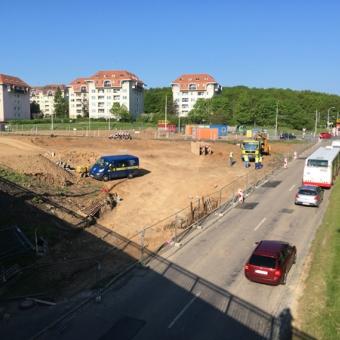 OKO Kohoutovice - Výstavba kruhové křižovatky zahájena