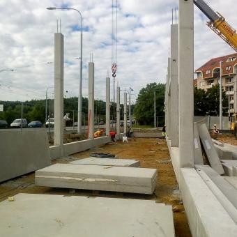 OKO Kohoutovice - Průběh výstavby na konci letních prázdnin