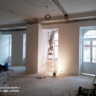 Stavba pokračuje v plném proudu!